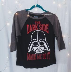Star Wars Half Sleeve Graphic Shirt